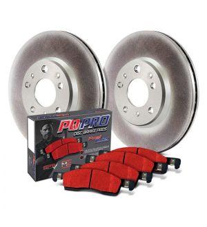 Centric OE Elite Brake Kit 2 Wheel - Acura, Honda Accord, TSX  - 910.40519