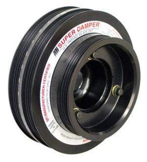 ATI Performance Products Crank Hub - Steel - 350Z Nissan VQ35 4 Grv