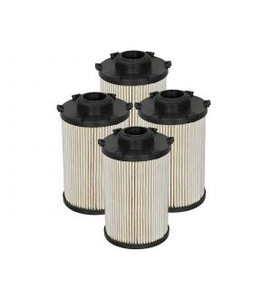 aFe Pro GUARD D2 Fuel Filter 07.5-09 Dodge RAM Diesel Trucks L6 6.7L (td) (4 Pack)