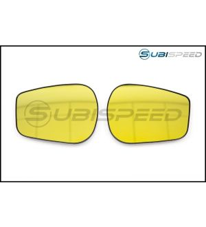 OLM WIDE ANGLE CONVEX MIRRORS GOLD EDITION 2013+ FR-S / BRZ / 86-Yes Defrost-No Turn Signal