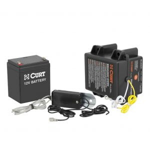 Curt Push-to-Test Breakaway Kit w/Side-Load Battery