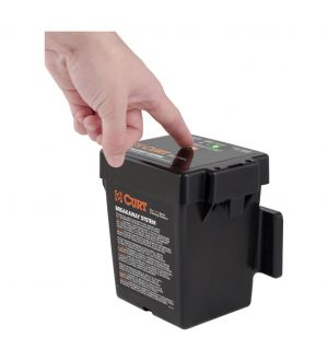 Curt Push-to-Test Breakaway Kit w/Top-Load Battery