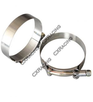 CX Racing Hose  T-Clamps + 3.5