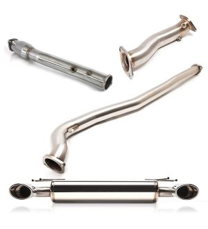 COBB Tuning Stainless Steel Oval Tips Turboback Exhaust