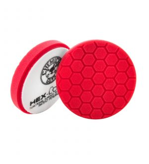 Chemical Guys Hex Logic Self-Centered Perfection Ultra-Fine Finishing Pad - Red - 6.5in (P12)