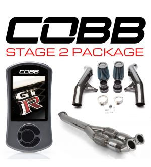 COBB Tuning Nissan GT-R Stage 2 Carbon Fiber Power Package with TCM Flashing