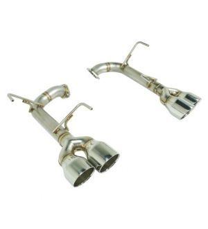 Remark Subaru WRX STi VA Axle Back Exhaust w/ Titanium Stainless Double Wall Tip - 4 Inch Version