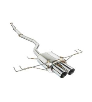 Remark 2017+ Honda Civic Sport (Non-Resonated) Cat-Back Exhaust w/Stainless Steel Tip Cover