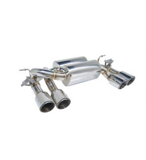 Remark BMW M3 (F80) / M4 (F82/F83) Axle Back Exhaust w/ Black Chrome Tip Cover
