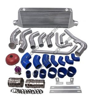 CX Racing Intercooler Intake Radiator Piping Kit For Subaru BRZ/ Scion FRS 2JZ-GTE Stock Turbo