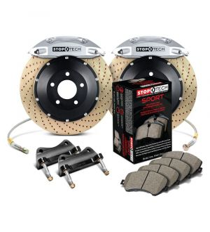 StopTech Big Brake Kit 2 Piece Rotor, Front 2 Box 2005-2009 Land Rover - 83.508.6D00.64