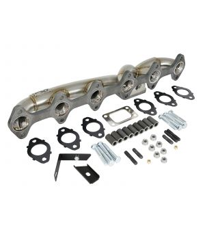 aFe Twisted Steel Header w/ Turbo Manifold 03-07 Dodge Diesel L6-5.9L