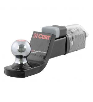 Curt Towing Starter Kit  Ball w/2in(2in Shank 7500lbs 2in Drop)