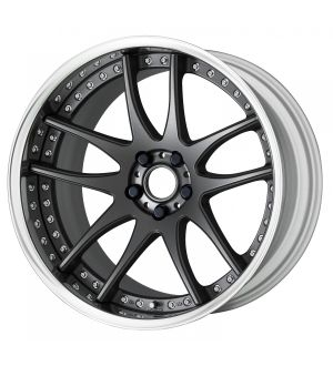 Work Wheels Emotion CR 3P 19x7.5 +47  5x114.3  Semi Concave - Matte Gunmetal (MGM) - Full Reverse