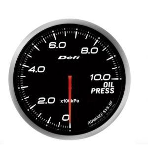Defi Advance BF JDM Series Link Meter Gauge 60mm Oil Pressure with White Lighting