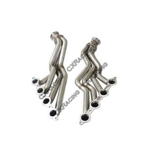 CX Racing Exhaust Performance Header Headers For 86-92 Supra MK3 LS1 LXs Swap
