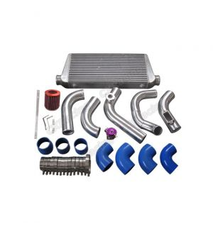 CX Racing Intercooler Piping Turbo Intake Kit For 2JZGTE 2JZ-GTE 2JZ Swap 240SX S13 S14 Single Turbo