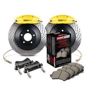 StopTech Big Brake Kit 2 Piece Rotor, Front 2 Box 2007-2019 Infiniti, Nissan - 83.487.6700.82
