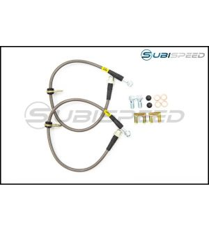 FACTIONFAB STAINLESS STEEL BRAKE LINES - 2013+ BRZ