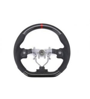 FactionFab Steering Wheel Carbon and Leather Subaru WRX / STI 2015 - 2020