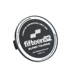 fifteen52 Super Touring (Chicane/Podium) Center Cap Set of Four - Black/Chrome