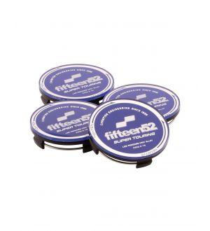 fifteen52 Super Touring (Chicane/Podium) Center Cap Set of Four - Blue/Chrome