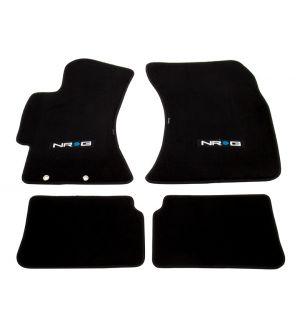 NRG Innovations Floor Mats - 2009-2011 Subaru Impreza WRX/STI w/