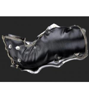 PTP Turbo Blankets (2012-2014 FIAT 500 / Dodge Dart)FIAT / Dodge 1.4L MultiAir SR-Glass™ Downpipe Blanket (Black)