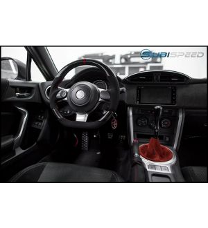 FT-86 SPEEDFACTORY FACELIFTED CP STYLE CARBON FIBER / ALCANTARA STEERING WHEEL - 2017+ 86 / BRZ