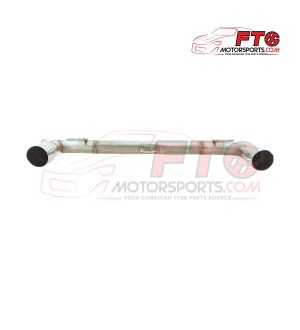 FT86MS Axleback Muffler Delete - Various Tip Options - 2013+ FRS/BRZ/86