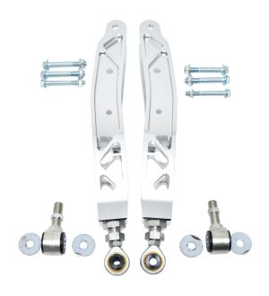 FT86MS Billet Aluminum Rear Lower Control Arms - Silver(Raw) - 2013+ FR-S/BRZ/86 & 2008+ WRX/STI