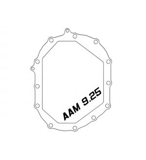 AFE Power 11-18 GM 2500-3500 AAM 9.25 Axle Front Differential Cover Black Machined Street Series
