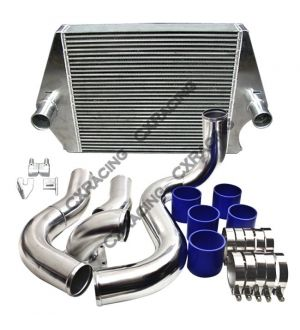CX Racing 3.5 Inlets Intercooler Kit For 03-07 Ford Super Duty 6.0L Diesel Powerstroke F250 F350