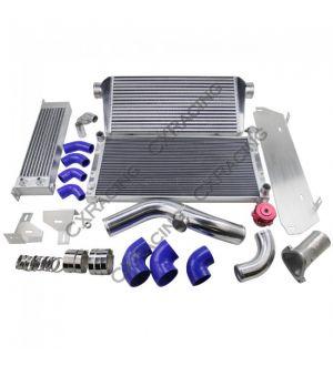 CX Racing 13B Rotary Engine Intercooler Radiator Piping Kit Oil Cooler For Datsun 510 Swap