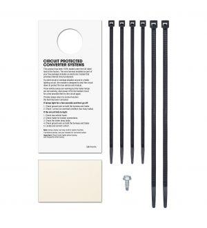 Curt 14-18 Kia Forte5 Custom Wiring Harness (4-Way Flat Output)