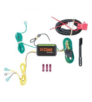 Curt 15-19 Lincoln MKC Custom Wiring Harness (4-Way Flat Output)