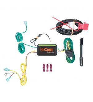 Curt 15-19 Lincoln MKC Custom Wiring Harness (4-Way Flat Output)