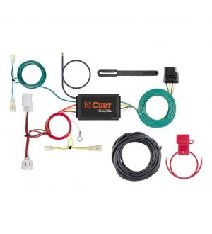 Curt 14-18 Mazda 6 Custom Wiring Harness (4-Way Flat Output)