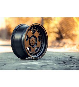fifteen52 Turbomac 18x8.5 5x108 42mm ET 63.4mm Center Bore Asphalt Black Wheel