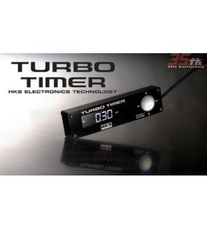 HKS Type-1 Black Turbo Timer Blue Back Light