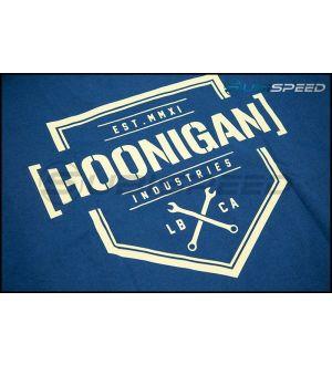 HOONIGAN Bracket X Short Sleeve Blue Tee