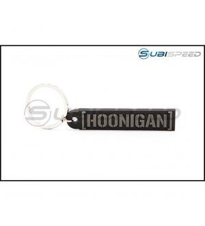 HOONIGAN Censor Bar Rubber Key Chain Black / Gray