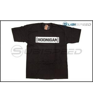 HOONIGAN Bracket Logo Short Sleeve Black / White Tee