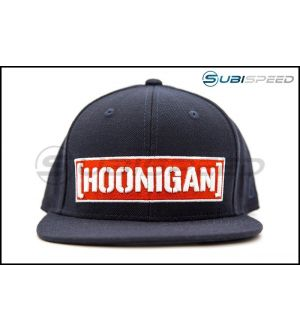 HOONIGAN Censor Bar Snapback Haty Navy / Red