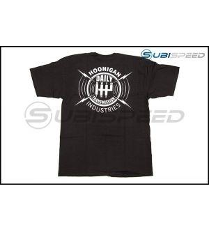 HOONIGAN Daily Transmission Short Sleeve Black / White Tee