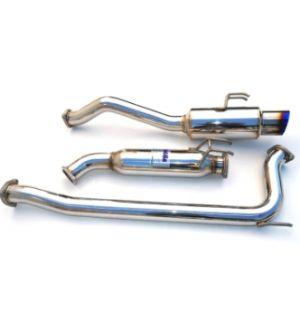 INVIDIA CAT-BACK EXHAUST, N1 Titanium Tip Cat-Back Exhaust (76mm) Honda Civic Si Coupe 06-11