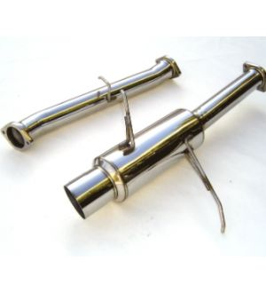 INVIDIA CAT-BACK EXHAUST, N1 Stainless Steel Tip Cat-Back Exhaust Mazda RX-7 Turbo FD3S 93-97