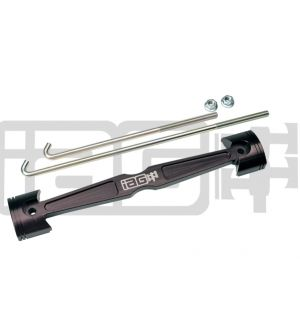 IAG Battery Tie Down for 2008-14 Subaru WRX / STI, 05-09 LGT - Black