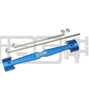 IAG Battery Tie Down for 2008-14 Subaru WRX / STI, 05-09 LGT - Blue