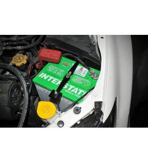 IAG Battery Tie Down for 2008-14 Subaru WRX / STI, 05-09 LGT - Gold